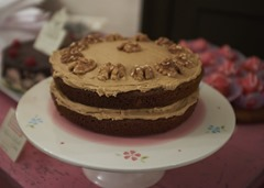 Lorna's Coffee and Walnut Cake