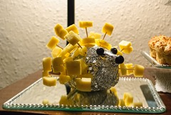 Wilma's Cheese & Pineapple Hedgehog